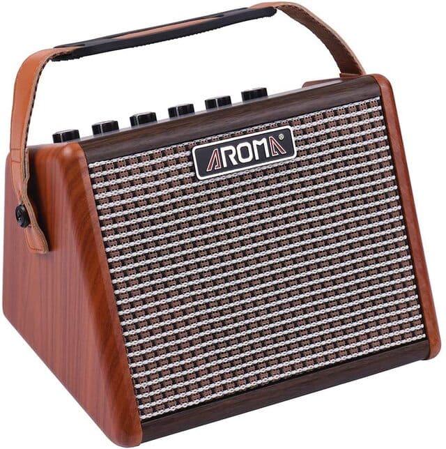 amplificatore per chitarra acustica aroma ag 15a