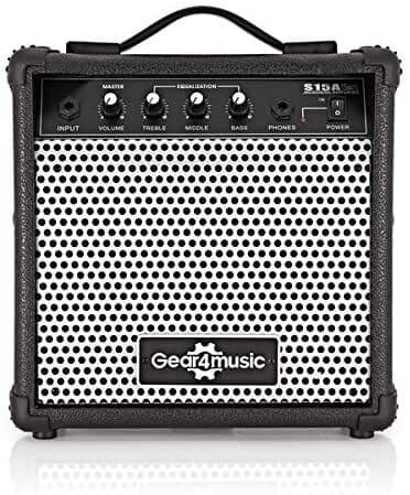 amplificatore per chitarra acustica gear4music s15a