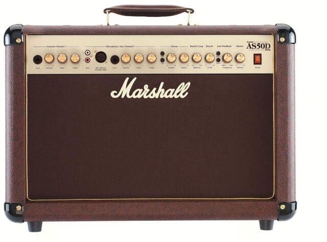 amplificatore per chitarra acustica marshall as 50d