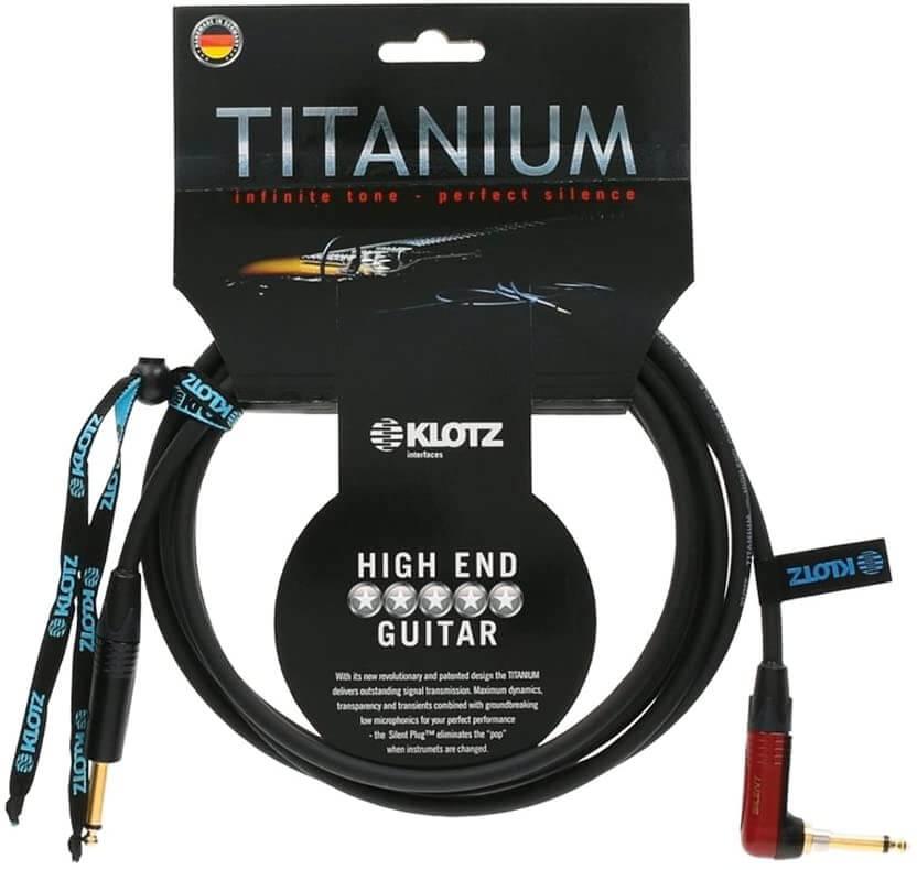 cavo per chitarra elettrica klotz