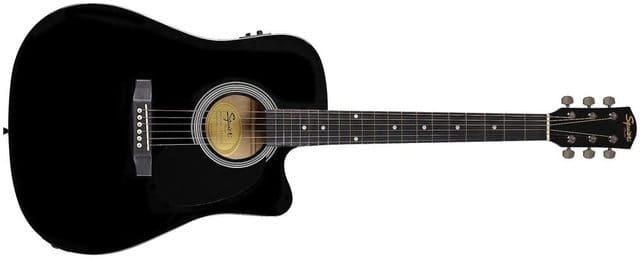 chitarra elettroacustica fender sa 105ce