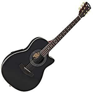 chitarra elettroacustica gear4music roundback
