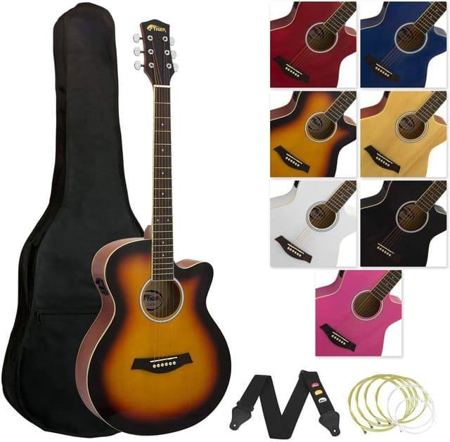 chitarra elettroacustica tiger acg4