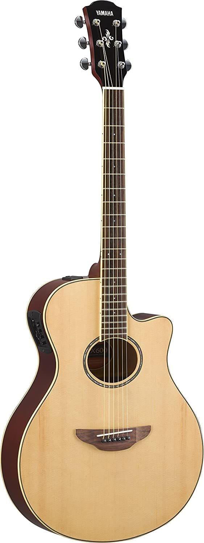 chitarra elettroacustica yamaha apx600 na thin