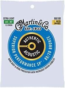 corde per chitarra acustica martin ma180