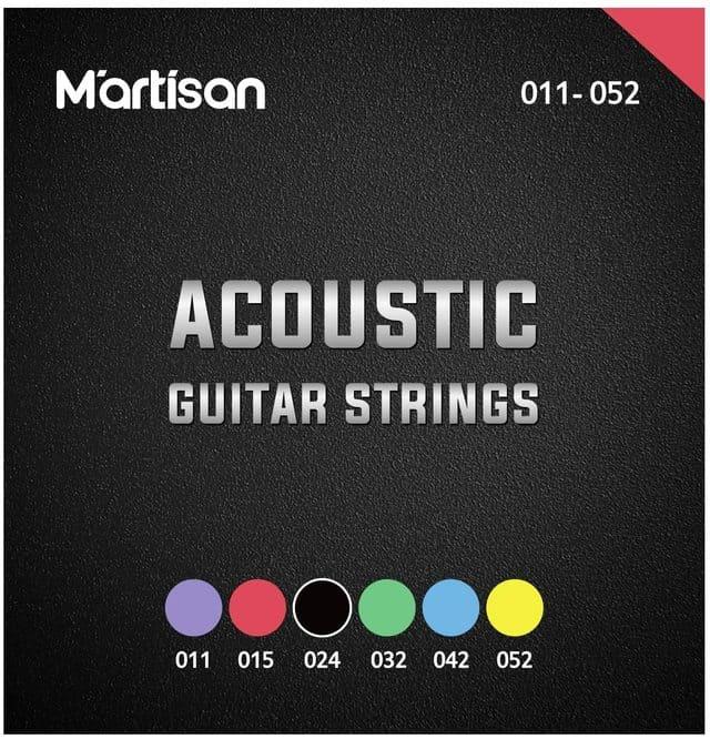corde per chitarra acustica martisan