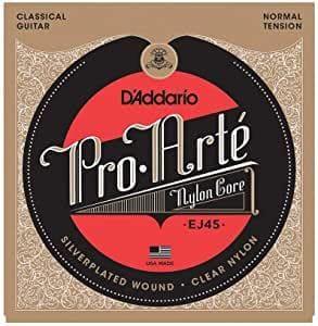 corde per chitarra classica d'addario ej45
