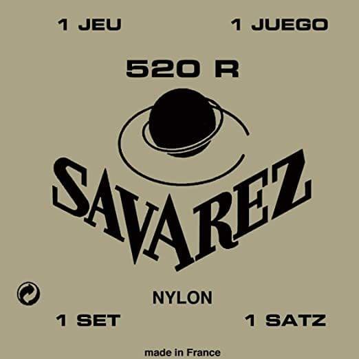 corde per chitarra classica savarez 520r