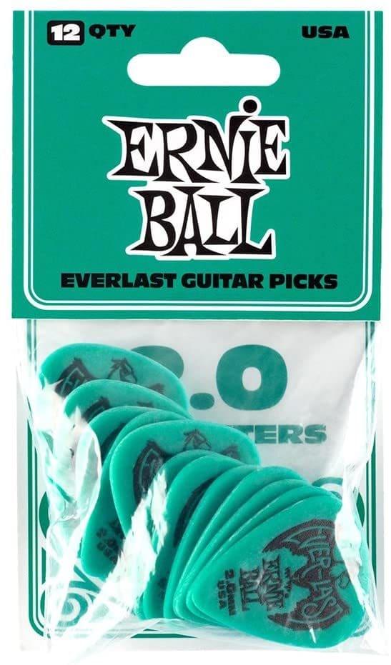 plettri per chitarra Ernie Ball