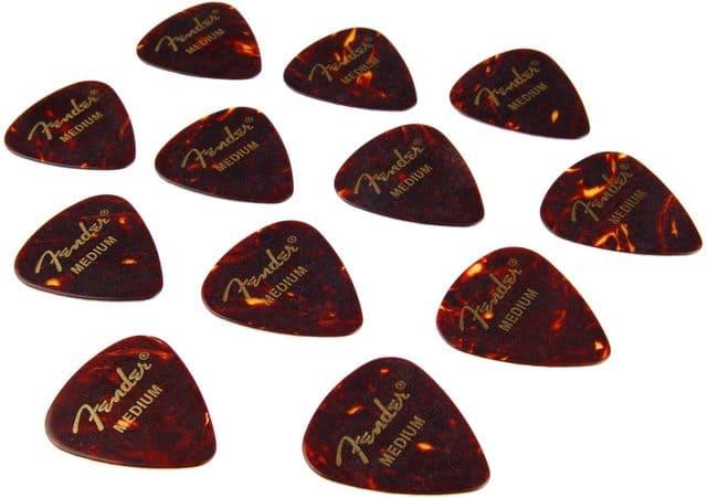 plettri per chitarra Fender