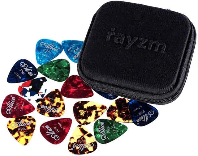 plettri per chitarra Rayzm