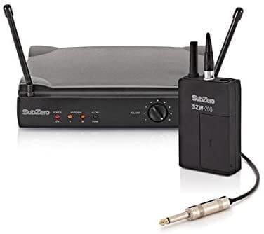 sistema wireless per chitarra subzero szw 20 g