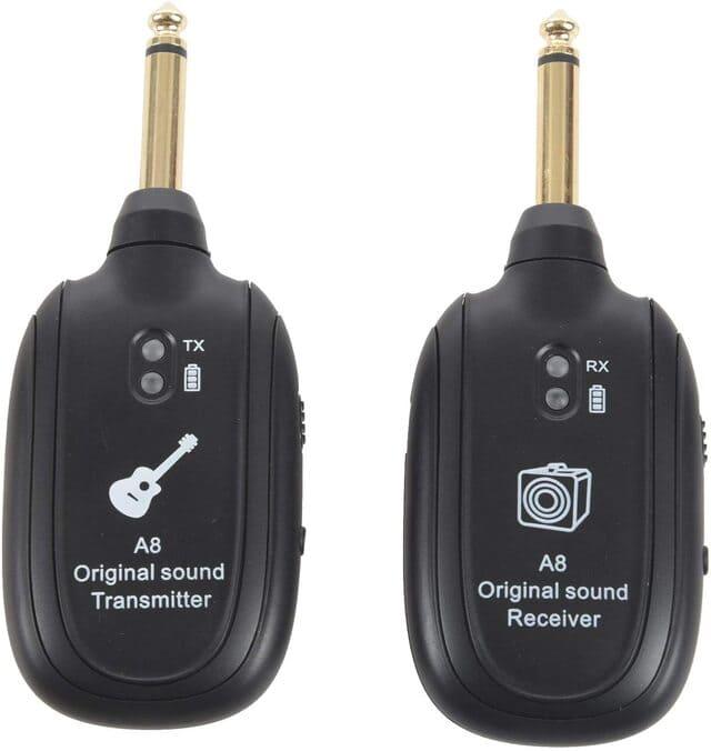 sistema wireless per chitarra toogoo