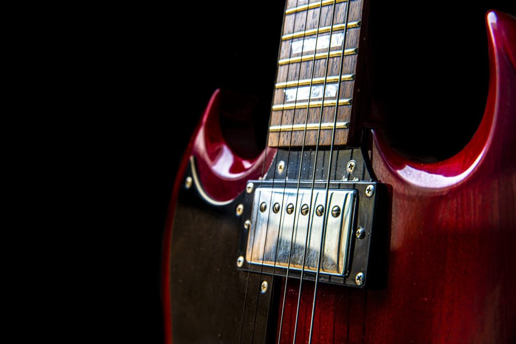 una-chitarra-elettrica