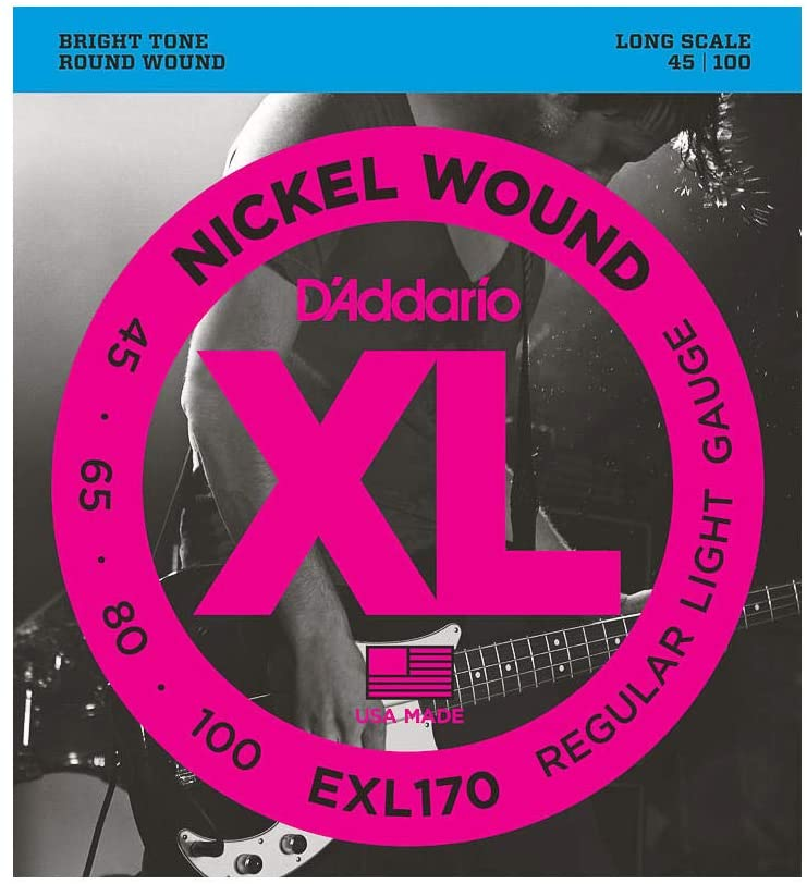 corde per basso D Addario EXL 170