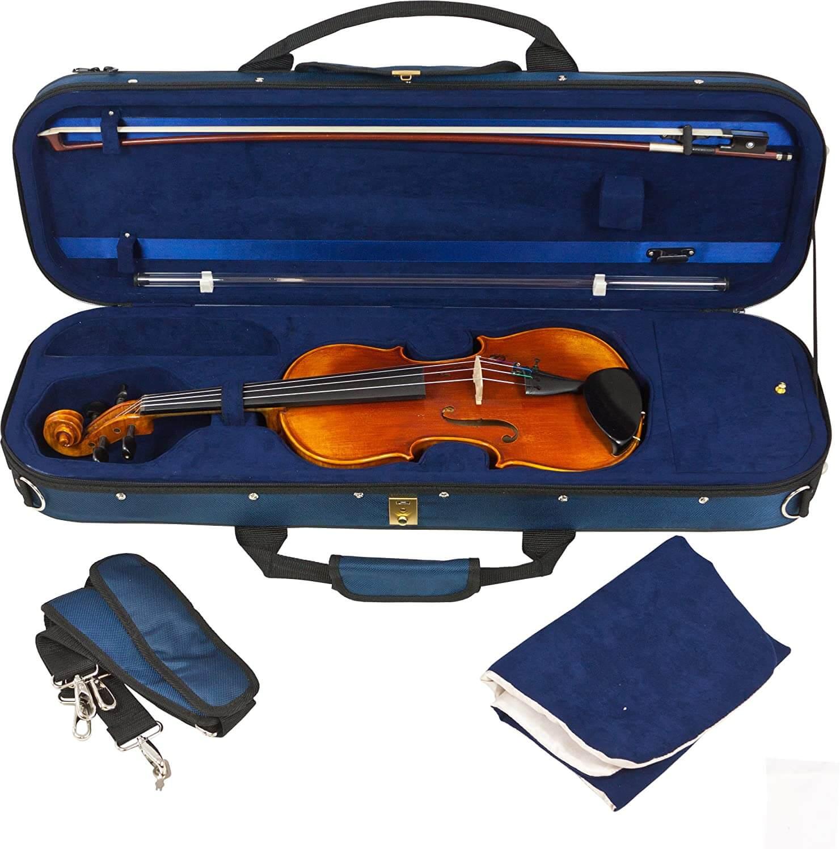 custodia per violino Tomandwill Blu