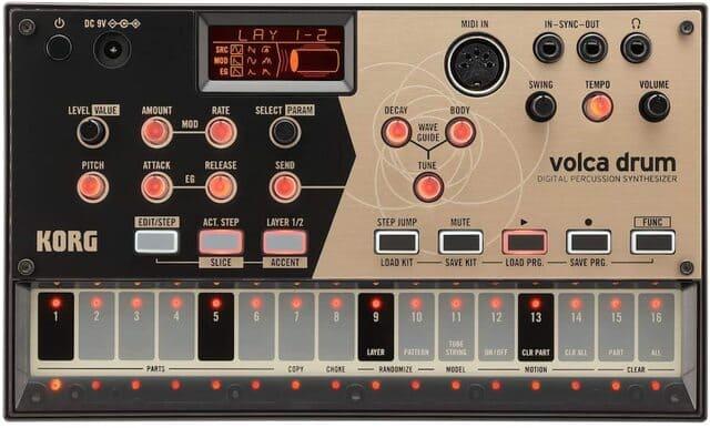 drum machine KORG VOLCA DRUM