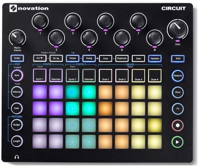 drum machine Novation Circuit