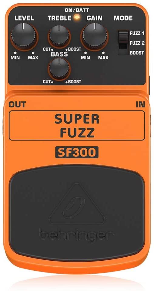 pedale per chitarra Behringer SF 300 effetto fuzz