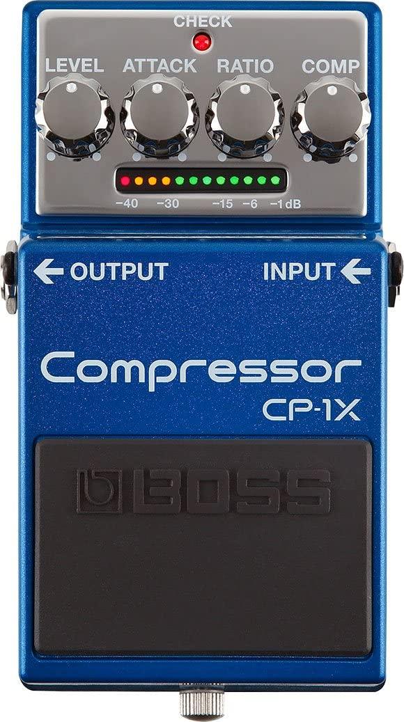 pedale per chitarra Boss CP-1X compressore