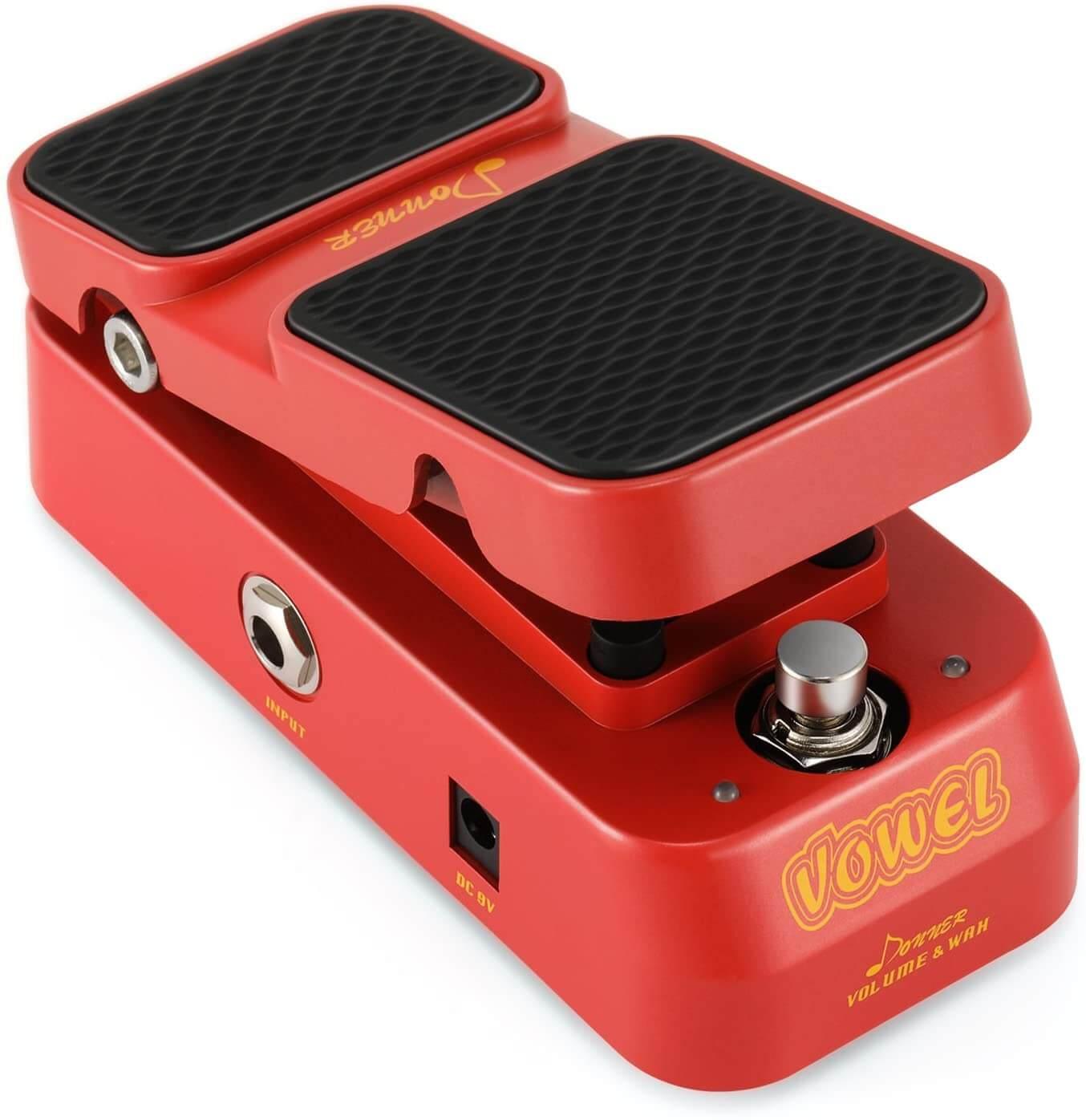 pedale per chitarra Donner wah wah volume