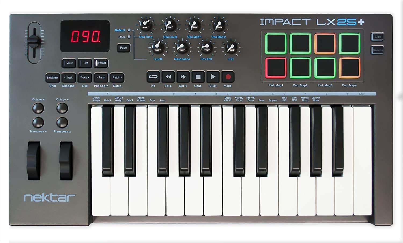 tastiera midi Nectar LX25