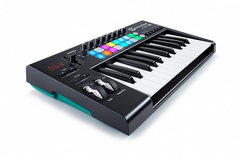 tastiera midi Novation AMS 25 mk2