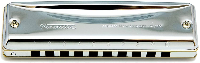 Armonica diatonica professionale a 10 fori Suzuki