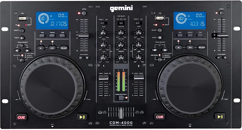 Consolle DJ Gemini CDM-4000