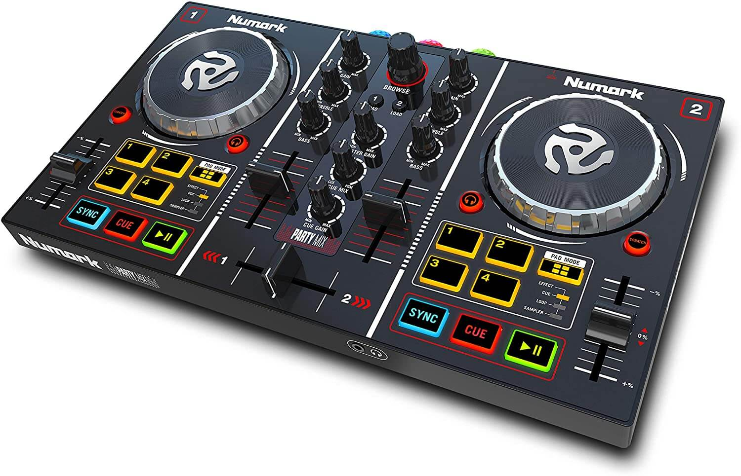 Consolle DJ a 2 canali Numark Party Mix