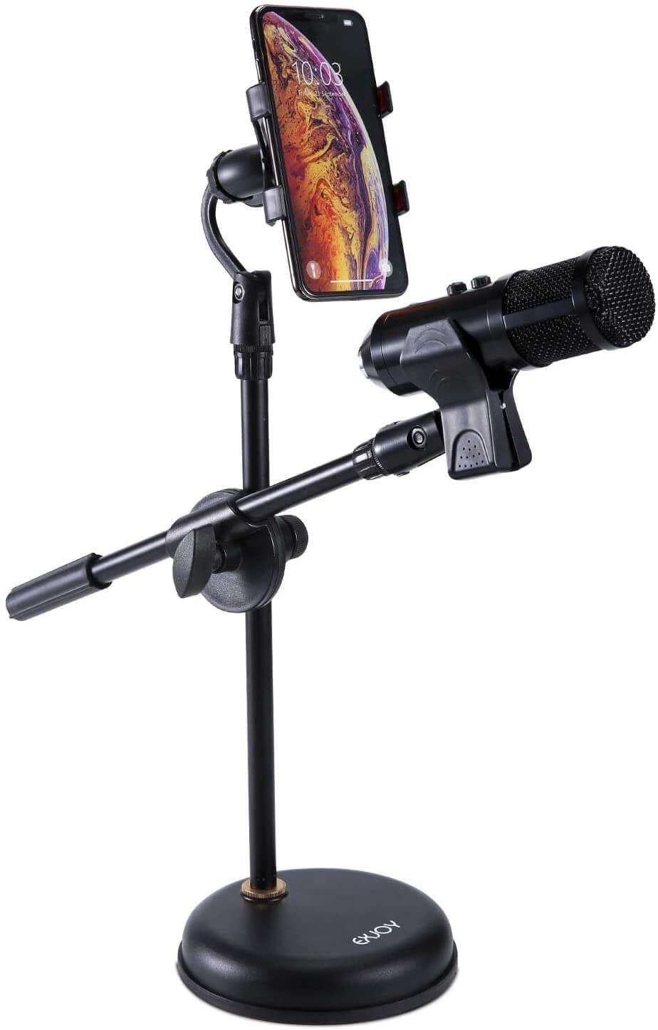 supporto microfono da tavolo Exjoy